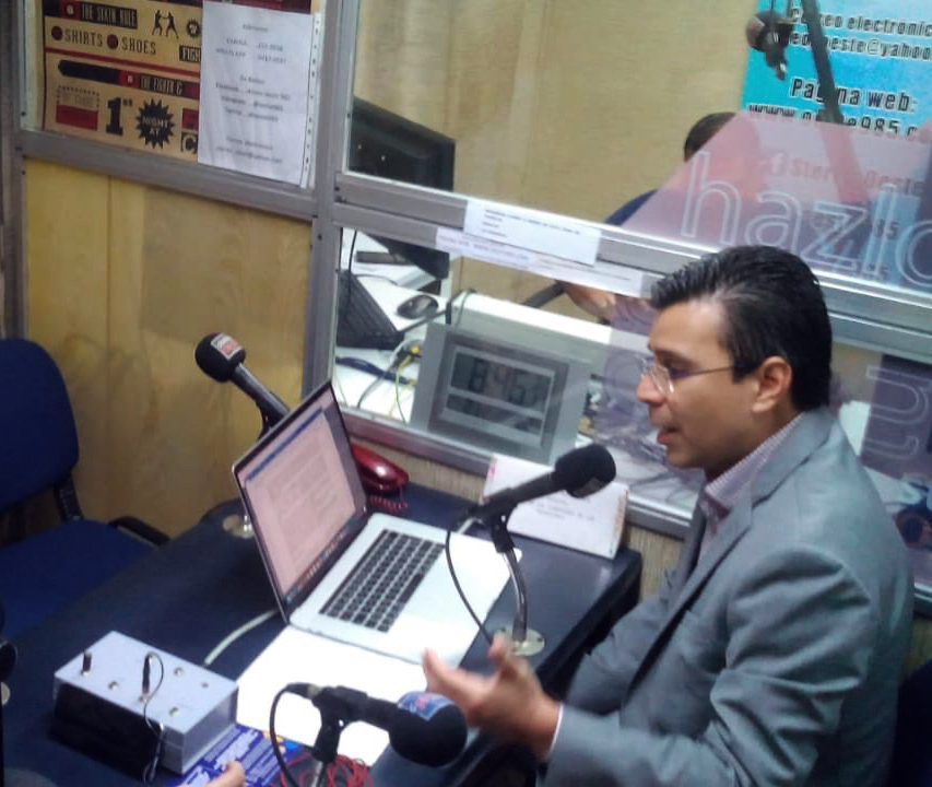 RC Tax Consulting, S.A. ofrece docencia tributaria en Stereo Oeste 98.5 FM